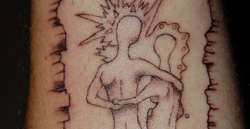 Those that can't Tattoo… Scratch!