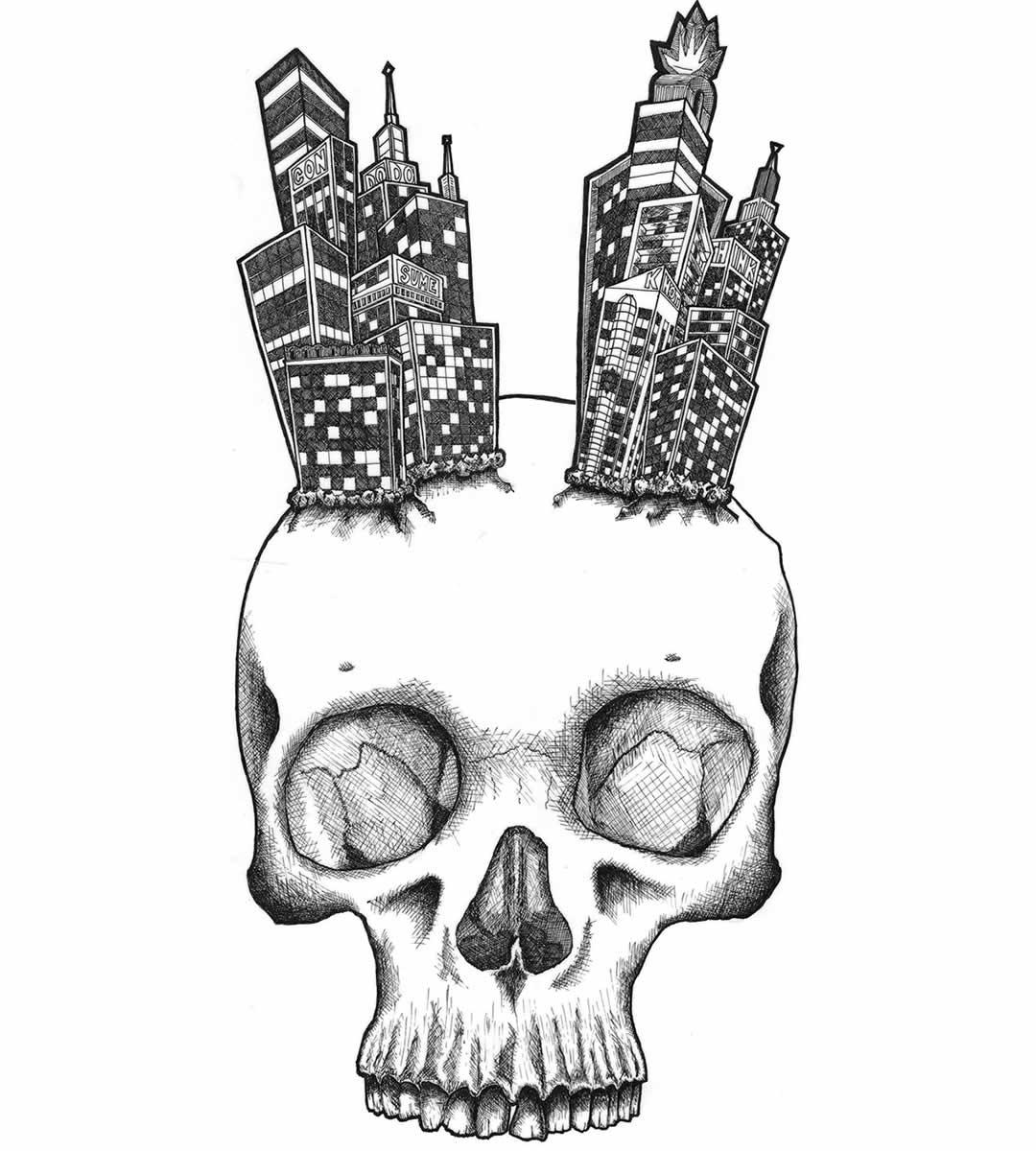 skull-skyline